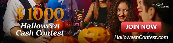 Win a $1000 Halloween Cash